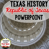 Republic of Texas PowerPoint