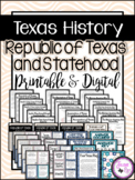 Republic of Texas and Statehood: TEKS Resource Unit 7