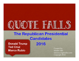 Republican Candidates 2016 QuoteFalls