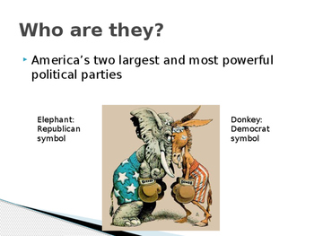 Republicans and Democrats: What's the Difference and Why Should I Care? PPT