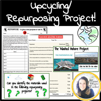 Repurposing Upcycling Project