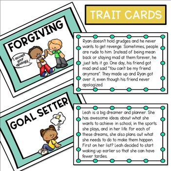 Reputation and Character Traits Lesson Activities