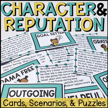 Reputation and Character Activities