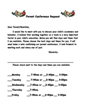 Request For Parent Conference