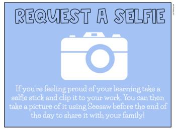 Request a Selfie - Seesaw