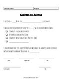 Request to Retake