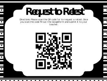 Request to Retest QR
