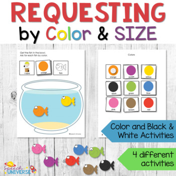 Requesting Big and Little Fish by Color