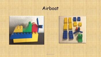 Requesting, Describing, and Sequencing Using Lego Bricks