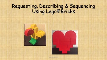 Requesting, Describing, and Sequencing Using Lego Bricks