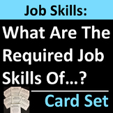 Required Job Skills Career Exploration Activity