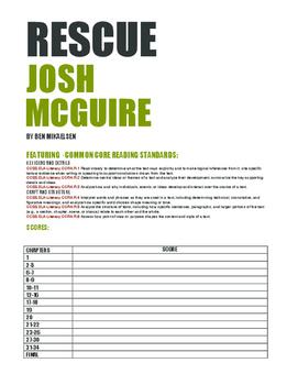 Rescue Josh McGuire (Novel Study)
