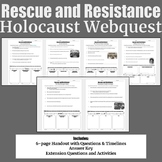 Rescue and Resistance Holocaust Webquest