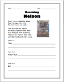 Rescuing Nelson by Beverley Randell guided reading work