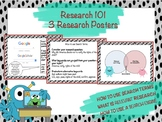 Research 101 - 3 Research Posters