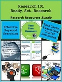 Teaching Research Skills: Ready, Set, Research Activities and Organizers Bundle