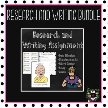 Writing Research Bundle