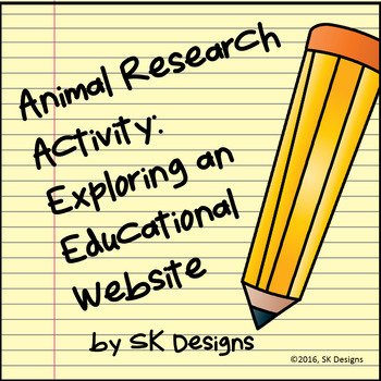 Webquest Research Explore Animals Prep Computer Fun Printables