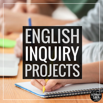 Research Activity Bundle: Real-World English Class Inquiry