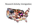 Research Activity: Immigration