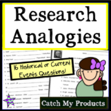 Research Skills: Analogies #2 for Gifted and Talented Students