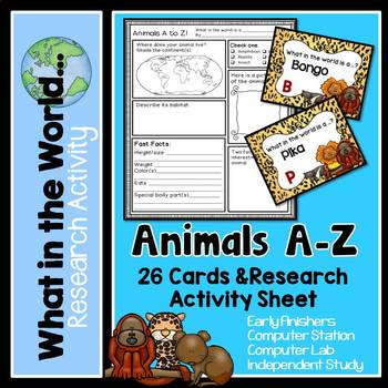 Research Project - Animals A - Z