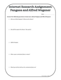 Research Assignment: Pangaea and Alfred Wegener