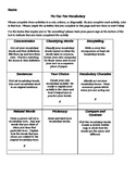 Research Based, Differentiated Vocabulary Activities