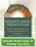 Research Based Presentations- For All Subject Areas!