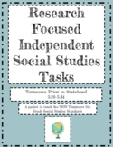 *Now Virtual* Research Tasks for TN Social Studies Standar