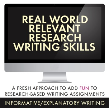 Research-Based Writing for Teens, Use Blog Approach to Practice Research, CCSS