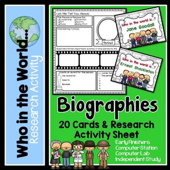 Research Project - Biographies