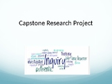 Research Capstone Project