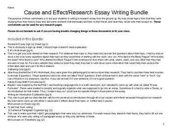 Example Of Essay Proposal Researchcause And Effectexpository Essay Bundle Columbia Business School Essay also The Benefits Of Learning English Essay Researchcause And Effectexpository Essay Bundle  Tpt Essay Writing Paper