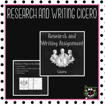 Research: Cicero