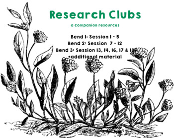 Research Clubs (Grade 3) ***Entire Unit***