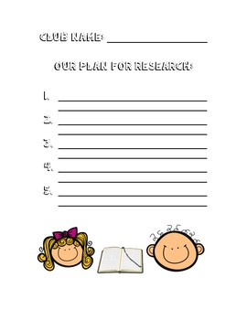 Research Clubs: Lucy Calkins Grade 3 Unit 4 ISN