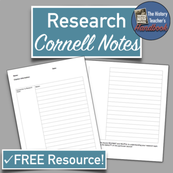 Research Cornell Notes