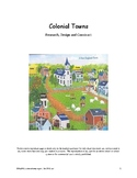 Research, Design, and Construct a Colonial Town