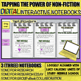 Research Digital Interactive Notebooks (for Research Essay