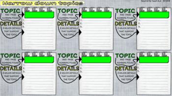 Research Digital Notebooks FREEBIE