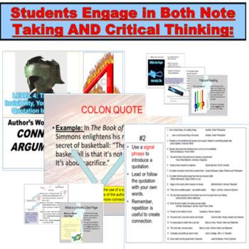 Research, Documentation, MLA PowerPoint JUMBO