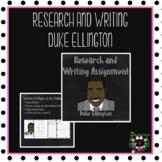 Research: Duke Ellington
