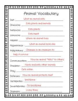 Research Essay- Animal Report Essay Grade 3