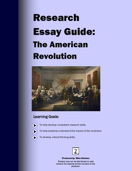 American Revolution Research Essay: A Clear 7 Page, Step-by-Step Guide