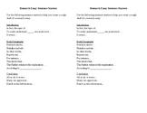 Research Essay Sentence Starters