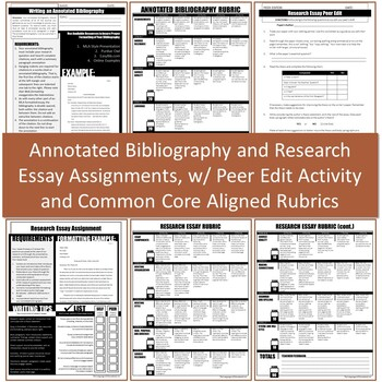 Research Essay Workshop