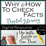 Digital Literacy - Research and Fact Checking {Google Drive}