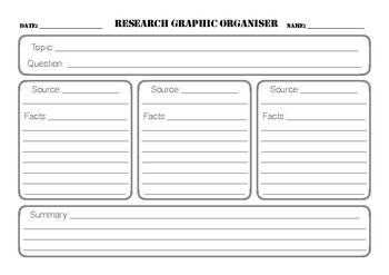 Research Graphic Organiser