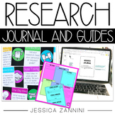 Research Graphic Organizer Journal and Posters | Distance